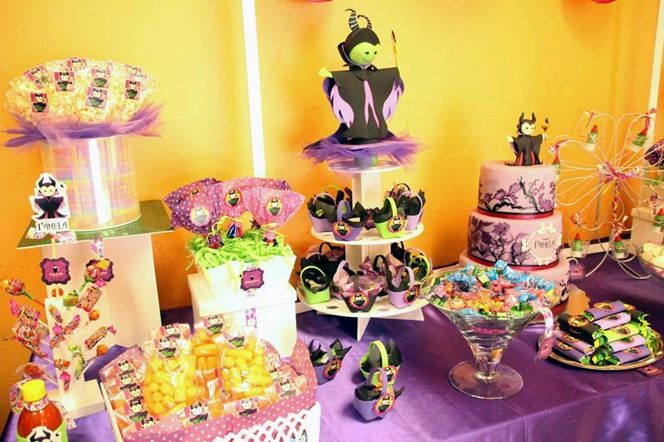 Mesa de dulces Malefica OKmira