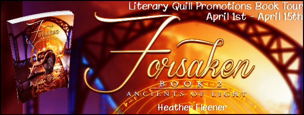 Forsaken by Heather Fleener book tour
