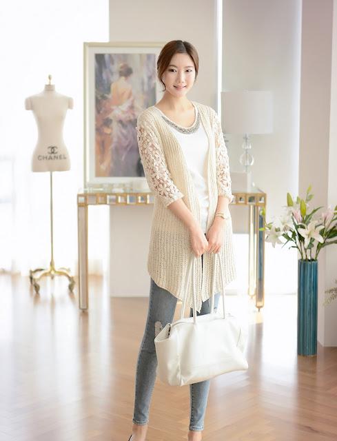 Tự tin thể hiện phong cách với áo cardigan len nữ