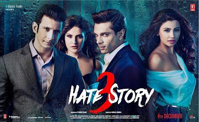 Hate Story 3 (2015) Hindi Movie HD DVDScrRip 700MB & 350MB