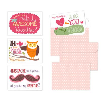 Stampin' Up! Awesome Valentines Designer Template Digital Download