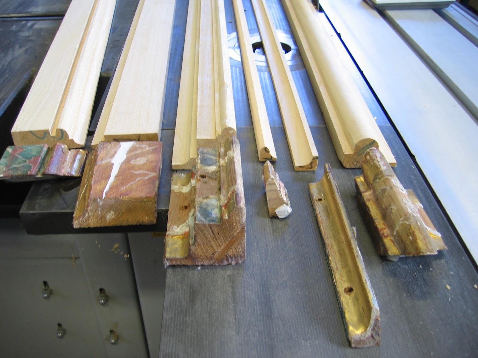The craftsman agosto 2012 for Molduras de madera