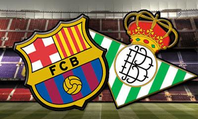 Barcelona vs Betis en vivo
