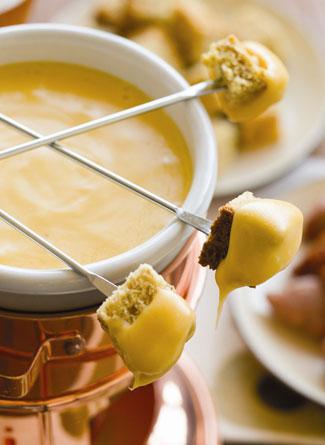 ... valentines day fondue party celebration champagne cheese fondue