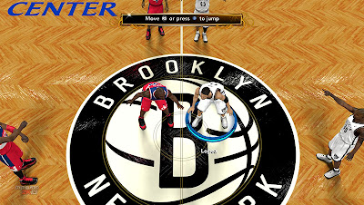 NBA 2K13 Barclays Center HD Court Patch