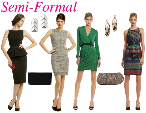 Semi Formal Accessories
