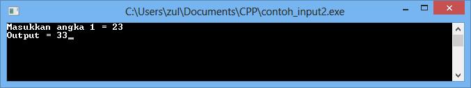Standard Input dan Standard Output di Bahasa C