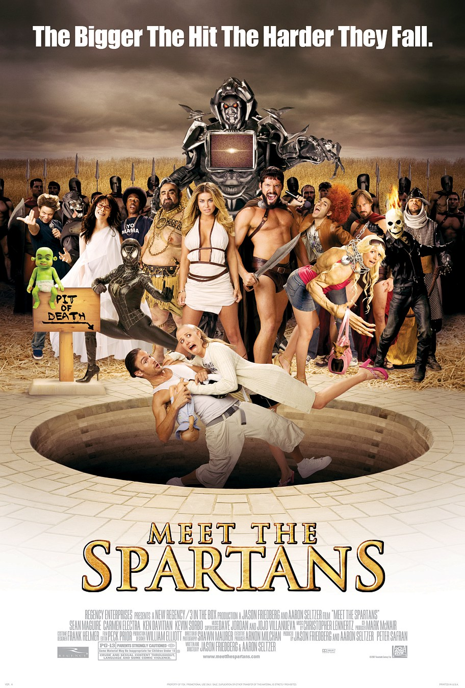 meet the spartans in hindi online