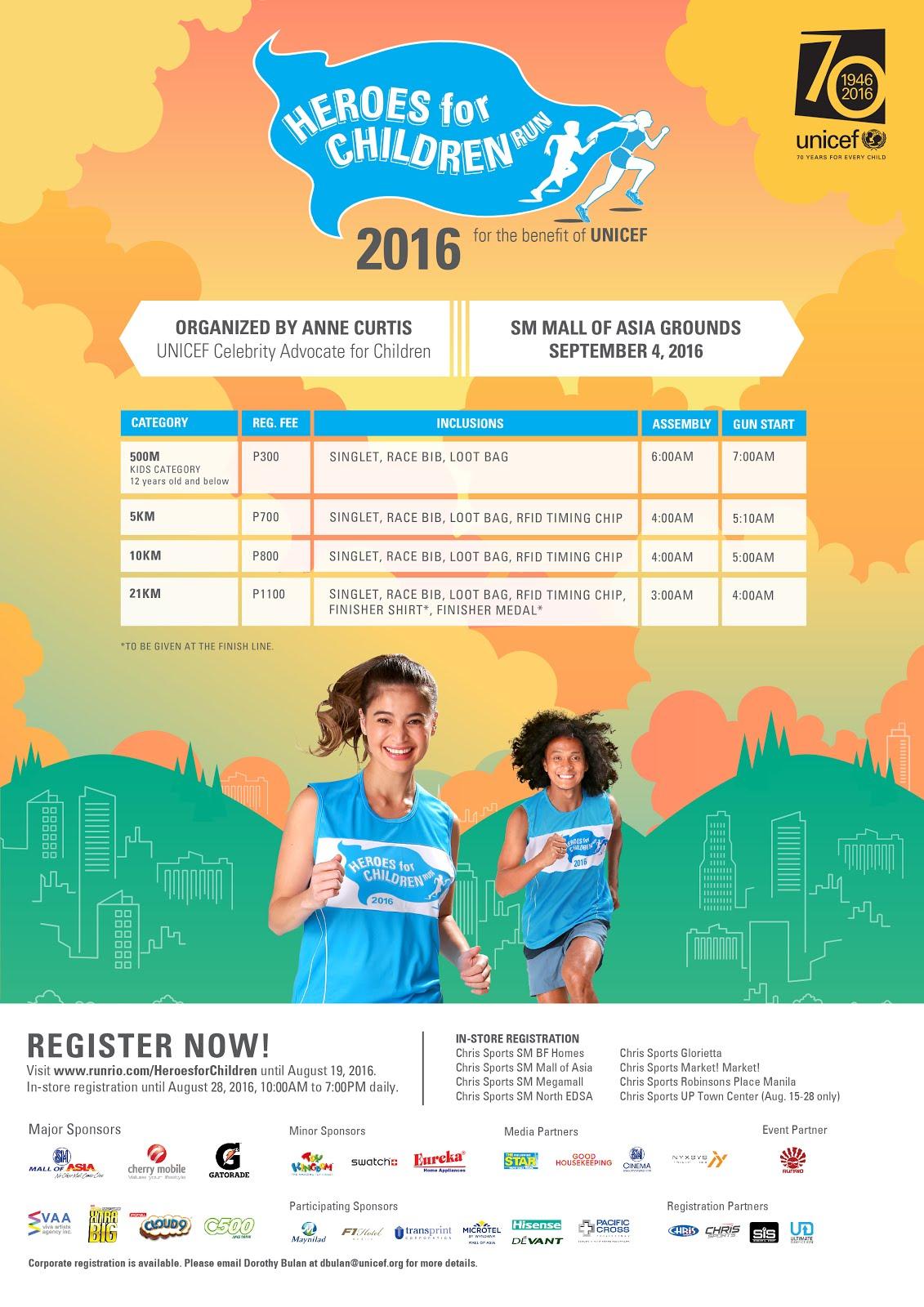 Heroes for Children Run 2016