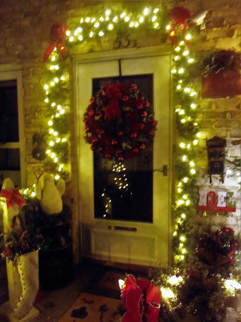 An Evening Tour, Christmas Home Tour, 2016