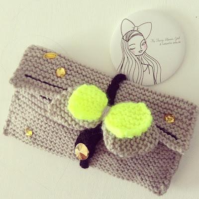 pochette laine
