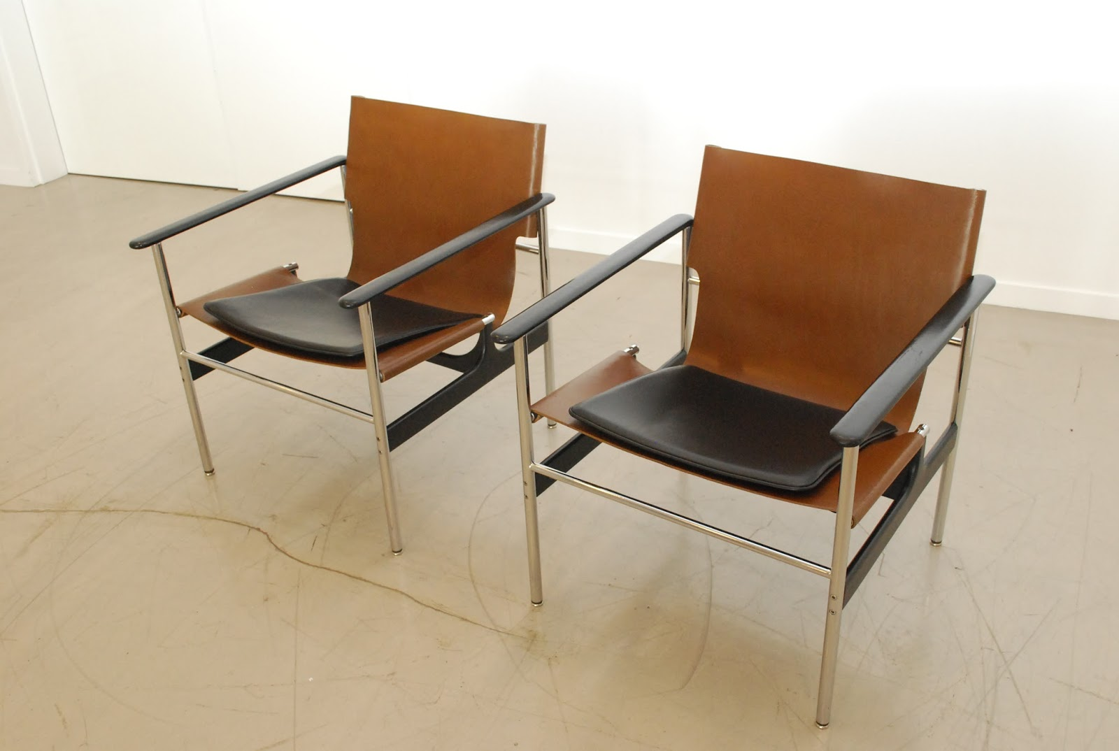 Another Popular Chair Is The Sling Chair   Also Known As The Pollock Arm  Chair, Or 657 Sling Chair. This Piece Was The First He Created For Knoll In  The ...