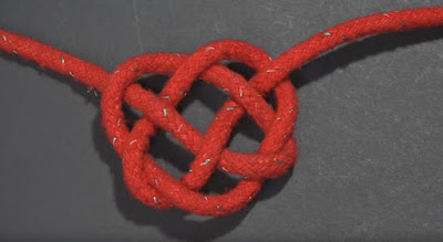 celtic heart knot open