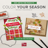 Color Your Season Time-Limited Offer