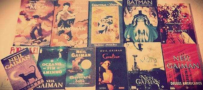 Minhas obras do Gaiman!