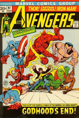 Avengers #97, Rick Jones gets super-powers