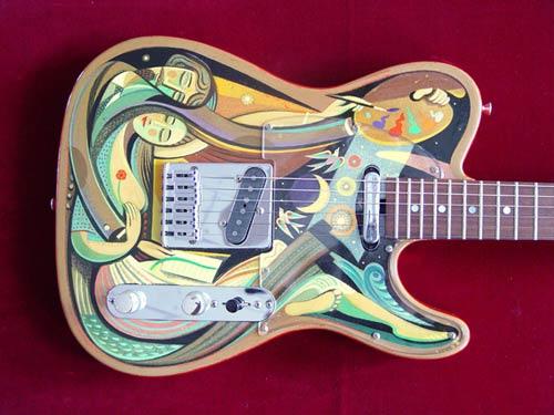 art  guitar art