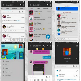 Download BBM Simple Dark 2.9.0.45