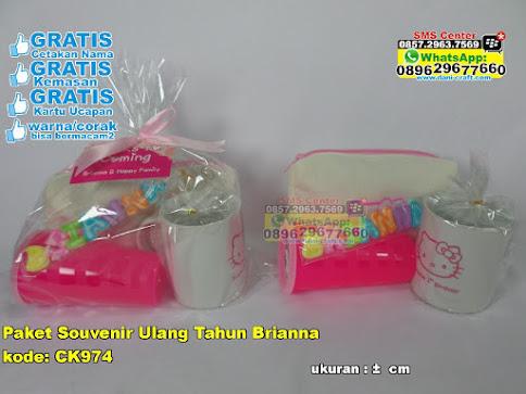 Paket Souvenir Ulang Tahun Brianna grosir
