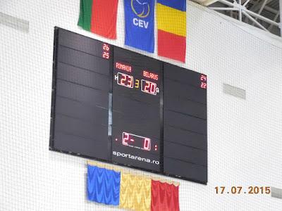 Romania 3 - Belarus 0