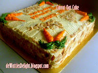 Carrot Walnut Cake