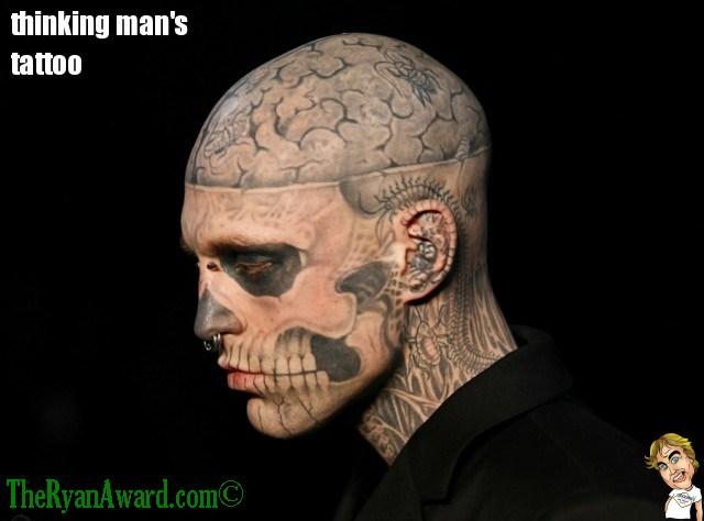 Epic Fail Tattoo : Thinking Man's Tattoo