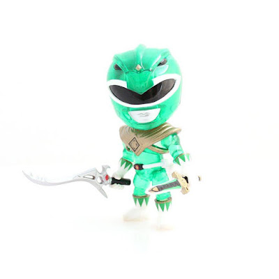 "San Diego Comic-Con 2015 Exclusive Mighty Morphin Power Rangers ""Crystal Edition"" Green Ranger Mini Figure by The Loyal Subjects"