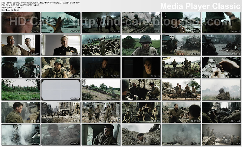 Saving Private Ryan 1998 video thumbnails