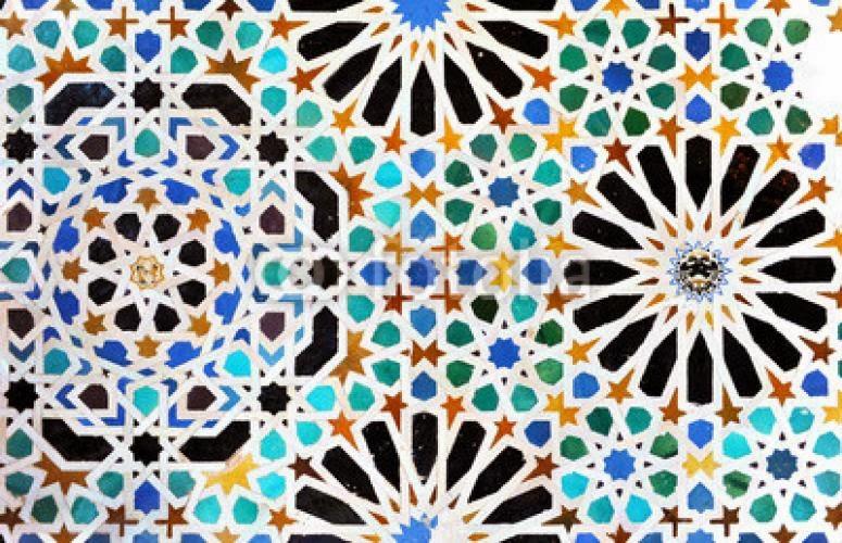 Aula de dibujo redes modulares dise os de la alhambra - Zocalos de azulejos ...