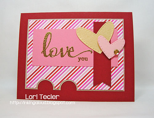 Love You-designed by Lori Tecler/Inking Aloud-stamps from Winnie & Walter