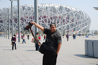 Stadium sarang Burung, Beijing. China