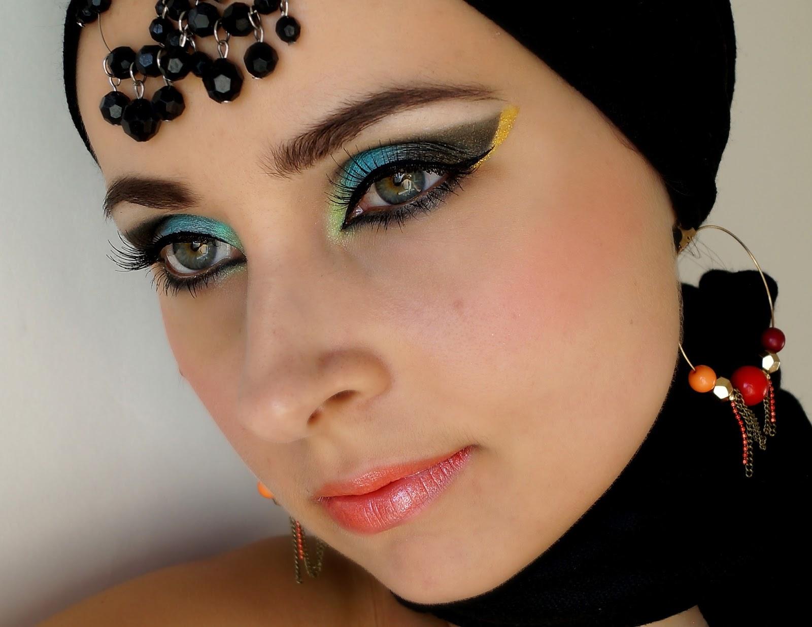 Фото макияжа для восточных глаз