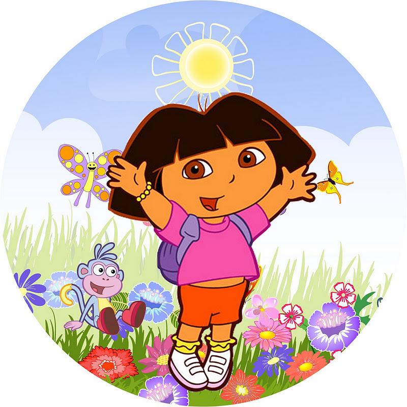 Dora Aventureira     Kit Completo   Molduras Para Convites  R  Tulos