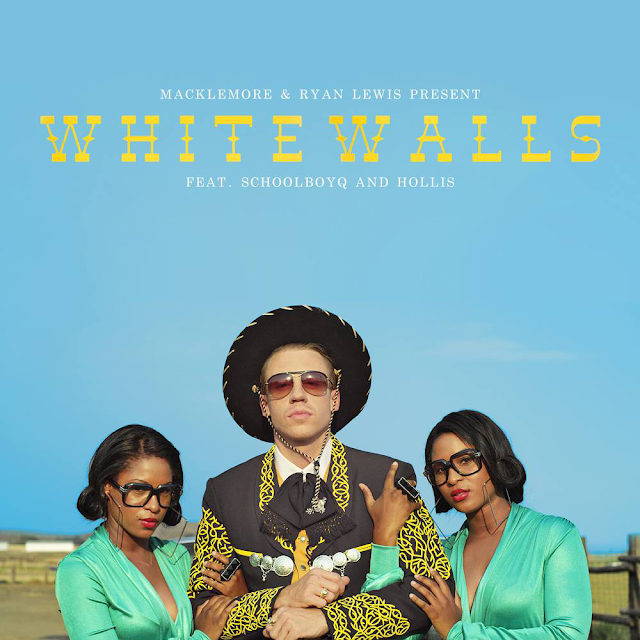 Macklemore & Ryan Lewis ft ScHoolboy Q & Hollis - White Walls - copertina traduzione testo video download