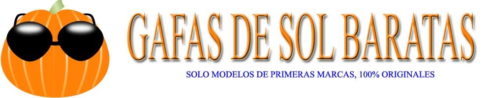 Gafas de sol baratas | Modelos en oferta de primeras marcas