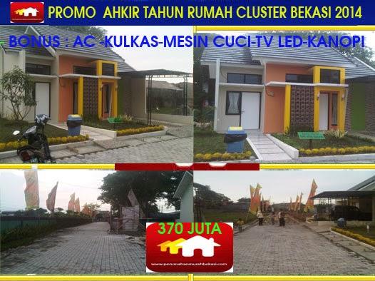 Promo Akhir Tahun Rumah Hunian Nuansa Cluster Di Bekasi 2014