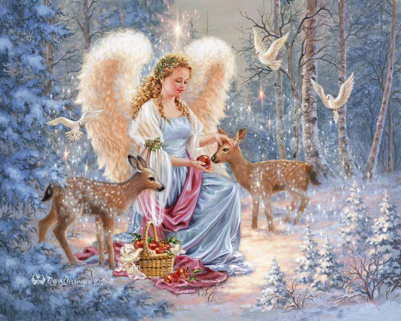 Interior decor christmas 13 - Anges de noel ...