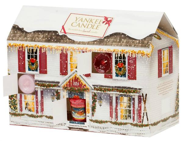Yankee Candle Adventskalender Haus