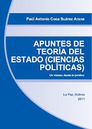 """Libro """"Apuntes de Teoría del Estado (Ciencias Políticas)"""" de 2011"""