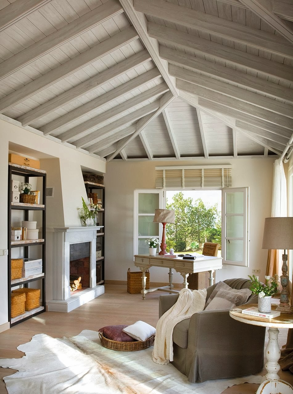 amenajari, interioare, decoratiuni, decor, design interior, birou, rustic,