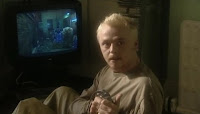 Spaced Tim playing Resident Evil