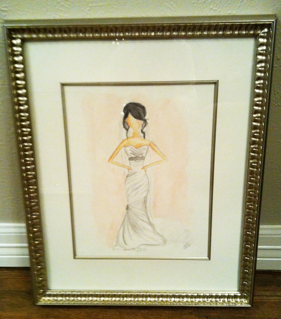 The Happy Homebodies: Homemade Gifts: Fashion Sketches