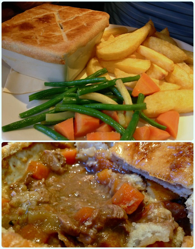 The Brewhouse, Bolton - steak and ale pie