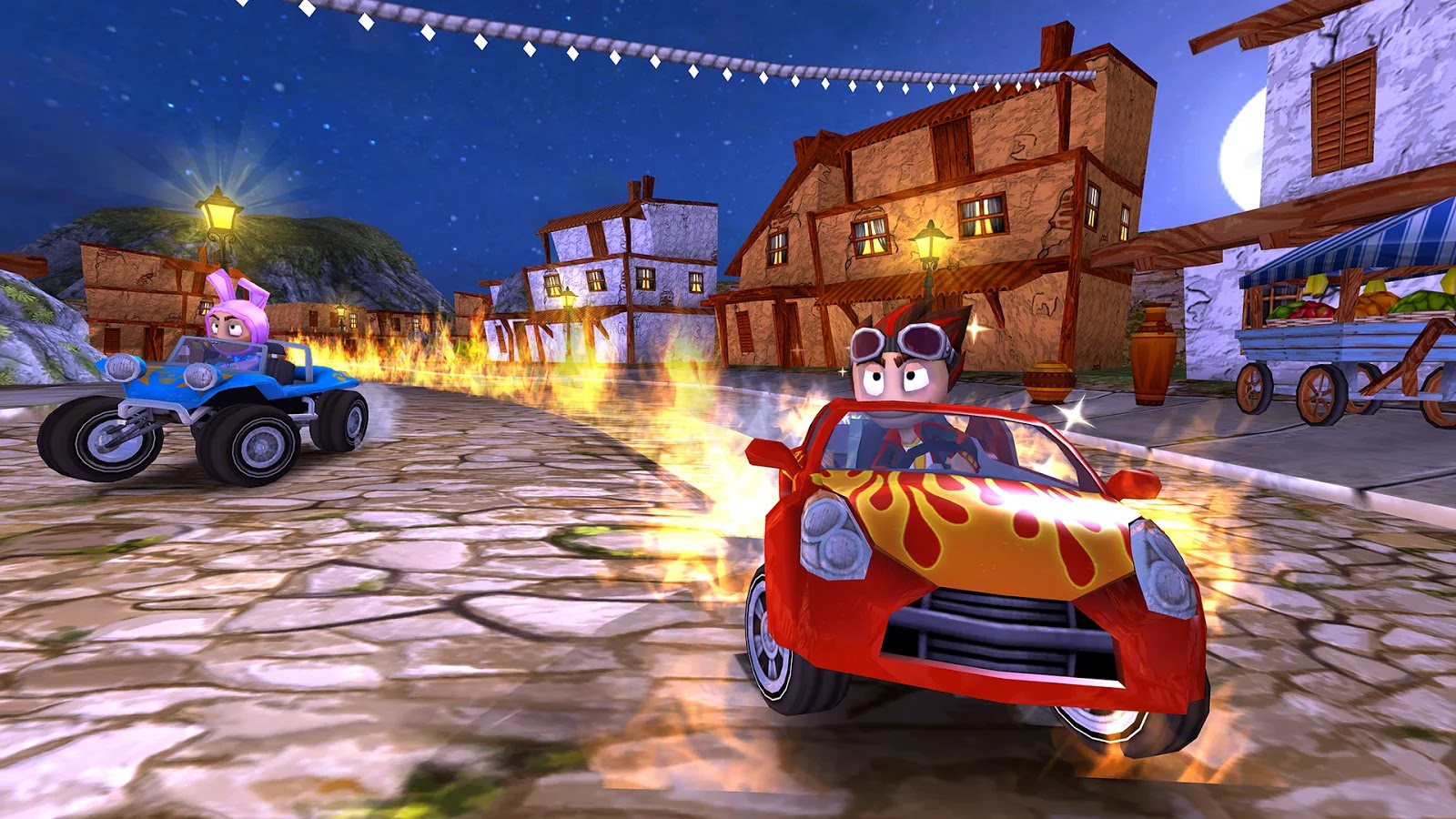 Beach Buggy Racing v1.1 Mod [Premium & Unlimited Money]