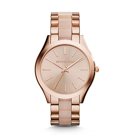 http://www.michaelkors.com/slim-runway-rose-gold-tone-stainless-steel-and-acrylic-watch/_/R-US_MK4294?No=24&color=0622