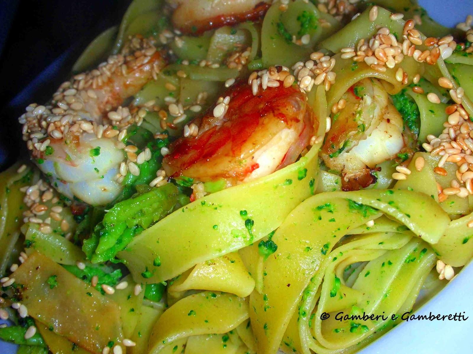 Olasz tészták, tenger gyümölcsei