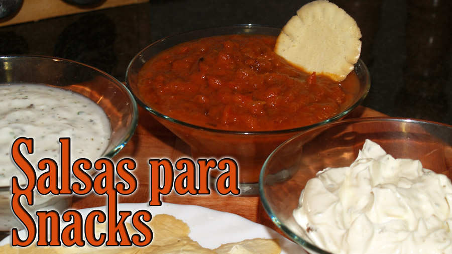 Salsa para Snacks - Receta Fase Crucero