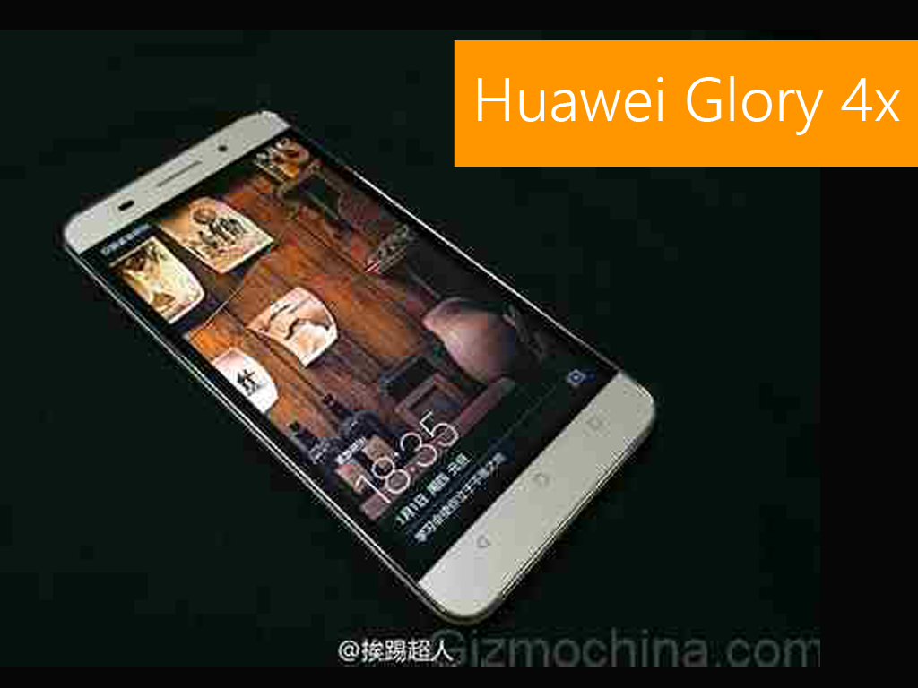Huawei Glory 4X Images Leaks Before December 16th Launch