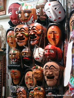 mask tradisional South korea