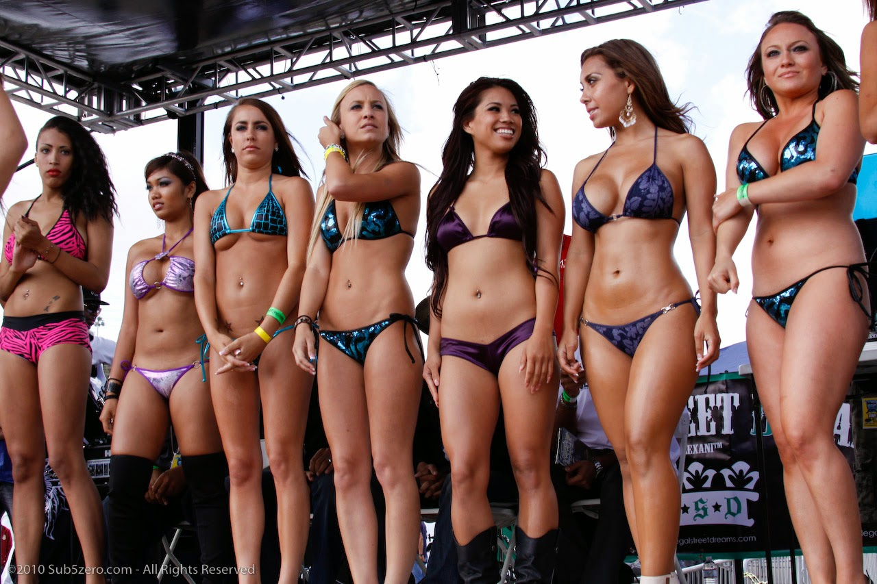 Bikini model contest photos